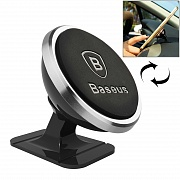 Держатель автомобильный Baseus 360 Degree Rotatable Universal Magnetic Mount Holder
